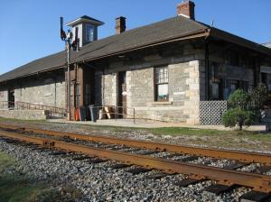 The Jonesboro GWTW Museum is housed in the old Jonesboro train station.