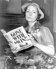 Margaret Mitchell, author of Gone With The Wind.