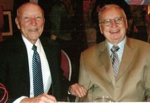 Herb Bridges and Robert Rosterman, both great gentlemen with big smiles.