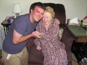 GWTW fan J.D. Thompson  knew Alicia Rhett and visited her sever times. (Photo courtesy J. Davis Thompson)
