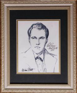 Picture of actor Fred Crane by Alicia Rhett (Photo courtesy Terry Crane Crabtree)