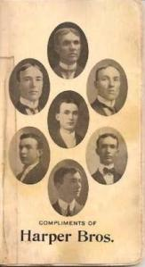 "The Harper Brothers, of Jonesboro during the Civil War era, had a set of red-headed twins, who were possible inspirations for the Tarleton Twins. (Photo courtesy Oliver ""Sandy"" Healy family)"