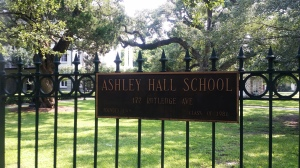 Ashley Hall, the school  author Alexandra Ripley attended. (Rains photo)