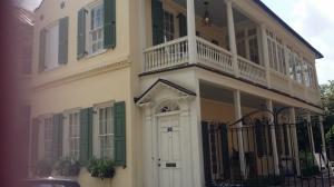 59 Tradd Street, Charleston, where Alicia Rhett lived (Rains photo)