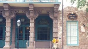 The Dock Street Theater where Alicia Rhett performed. (Rains photo)