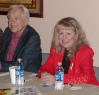 Sally Tippett Rains appeared on an author panel with TCM Host Robert Osborne