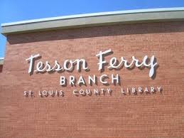 Tesson Ferry Library is located in South St. Louis County, Missouri.