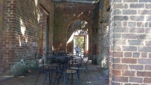 """The """"ruins"""" are used today for weddings, and other catered events."""